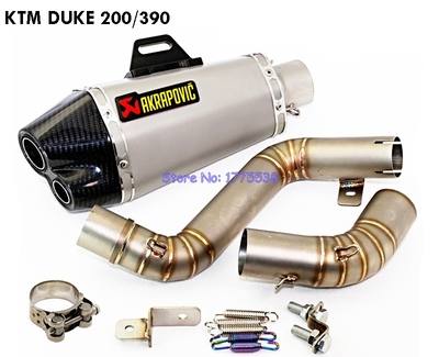 Motorcycle-KTM-Duke-200-390-Exhaust-Pipe-Muffler-Modified-Motorbike-Akrapovic-Exhaust-Muffler-Pipes-with-DB.jpg
